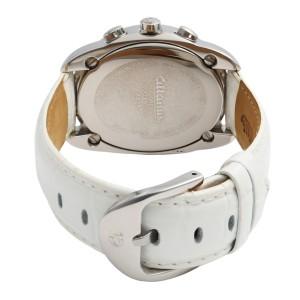 Altanus Flores Chrono Steel White Dial Quartz Ladies Watch 7825-WIWI