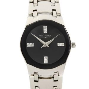 Wittnauer Montserrat Steel BlacK Dial Quartz  Ladies Watch 10P02
