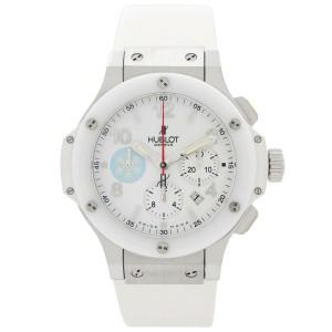 Hublot Big Bang Patagonia LTD Edition 44mm Steel White Ceramic Mens Watch 301