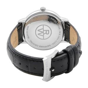 Raymond Weil Toccata Steel Leather Black Dial Quartz Mens Watch 5588-STC-20001