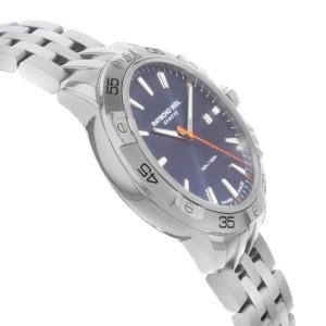 Raymond Weil Tango Stainless Steel Blue Dial Quartz Mens Watch 8160-ST2-50001