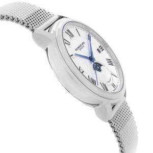 Raymond Weil Maestro Moonphase Steel Silver Roman Dial Mens Watch 2239M-ST-00659