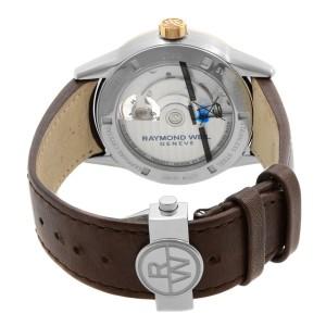 Raymond Weil Freelancer Steel Black Dial Automatic Mens Watch 2780-SC5-20001