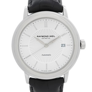 Raymond Weil Maestro Steel White Dial Automatic Mens Watch 2847-STC-30001