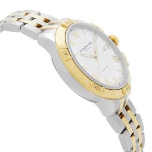 Raymond Weil Tango 41 Two-Tone Steel White Dial Quartz Mens Watch 8160-STP-00308
