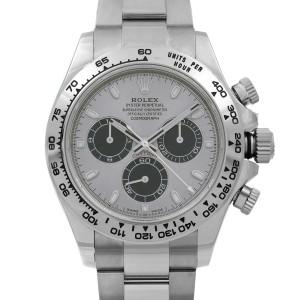 Rolex Daytona Cosmograph 18K White Gold Panda Dial Automatic Mens Watch 116509