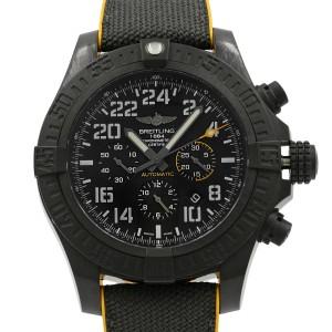 Breitling Avenger Hurricane 50 Breitlight Black Mens Watch XB1210E4/BE89-257S
