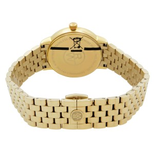 Raymond Weil Toccata Gold Tone Steel MOP Diamond Dial Ladies Watch 5988-P-97081