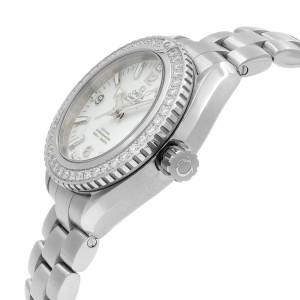 Omega Seamaster Diamond Bezel White Dial Ladies Watch 232.15.38.20.04.001