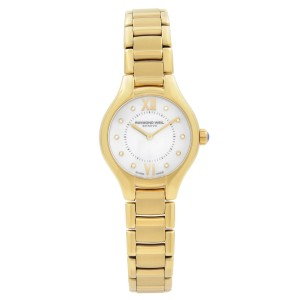 Raymond Weil Noemia Yellow Gold Tone Steel MOP Dial Ladies Watch 5124-P-00985