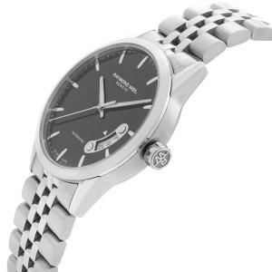 Raymond Weil Freelancer 38mm Steel Black Dial Automatic Mens Watch 2770-ST-20011