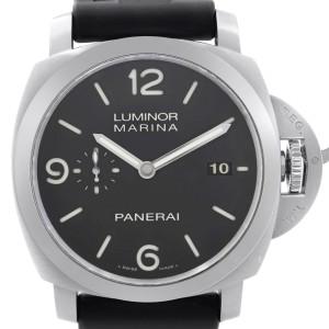 Panerai Luminor Marina 1950 3 days 44mm Steel Black Dial Mens Watch PAM00312