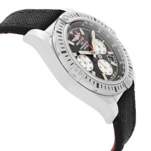 Breitling Chronomat 44mm Airborne Steel Black Dial Mens Watch AB01154G/BD13-1FD