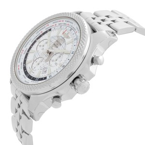 Breitling Bentley 05 Unitime Steel White Dial Mens Watch AB0521U0/A768-990A