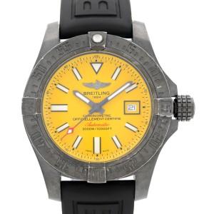 Breitling Avenger II Seawolf Black Steel Automatic Mens Watch M17331E2/I530-153S