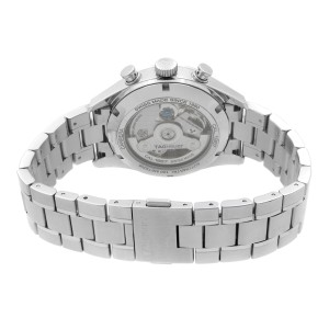 Tag Heuer Carrera Chrono Steel Silver Dial Automatic Men Watch CAR2111.BA0720