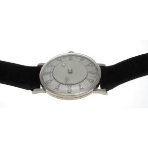Hamilton Mystery Diamond Dial 14K White Gold 31mm Watch