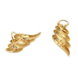 Tiffany & Co. 14K Yellow Gold Clip Earrings