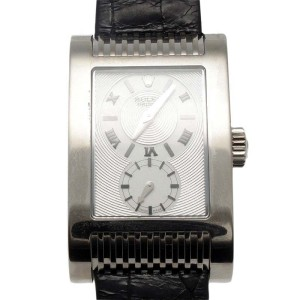 Rolex Cellini Prince 5541 18K White Gold Chronometer Watch
