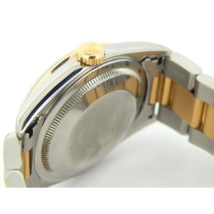 Mens Rolex Two-Tone 18K/SS Datejust Gold Champagne Arabic 16203
