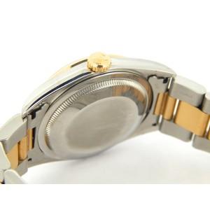 Mens Rolex Two-Tone Datejust Champagne Diamond 16203