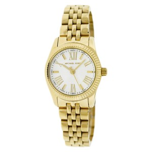 Michael Kors MK3229 Silver Dial Gold-Tone Stainless Steel Womens Watch