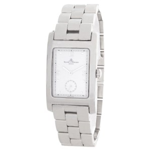 Baume & Mercier 318701 White Dial Stainless Steel Bracelet Womens Watch