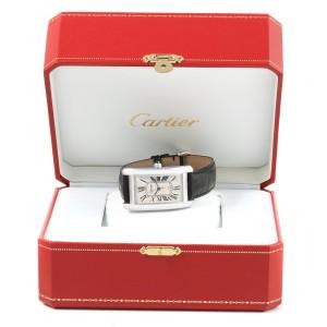 Cartier Tank Americaine W2603256 26.6mm Mens Watch