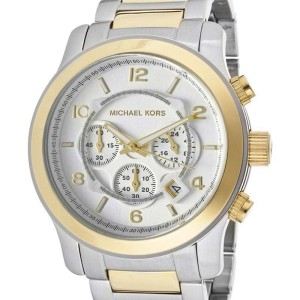 Michael Kors MK8283 Runway Silver Dial Two-Tone Bracelet Men's Watch
