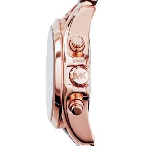 Michael Kors MK5944  Chrono Rose Gold-Tone Brown Acrylic Bracelet Womens Watch