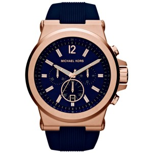 Michael Kors MK8295 Rose Gold Stainless Steel 49mm Mens Watch