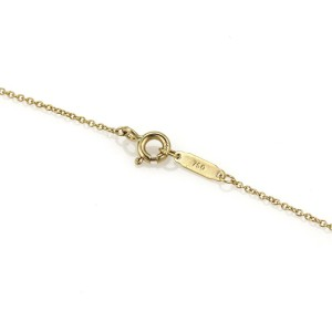 Tiffany & Co. 18K Yellow Gold Double Round Disc Pendant Necklace