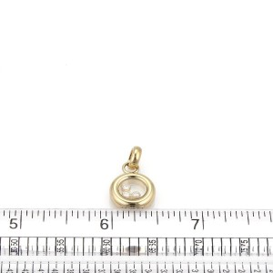 Chopard Happy Diamond 18K Yellow Gold with 0.15ct Diamond Round Pendant