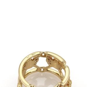 Carrera y Carrera Diamond 18K Yellow Gold Open Cherub Band Ring Seize 7.25