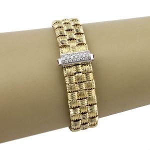 Roberto Coin 18K Yellow Gold with 0.22ctw Diamond Bracelet