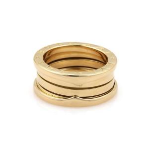 Bulgari B Zero-1 18K Yellow Gold Band Ring Size 6.25