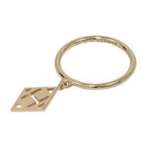 Hermes Gambade 750 Rose Gold Ring Size 5