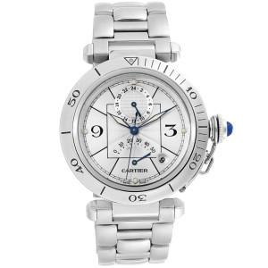Cartier Pasha Power Reserve GMT Automatic Mens Watch W31037H3