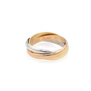 Cartier Trinity Ring Size 5.25