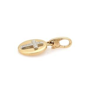 Cartier Diamond 18K Yellow Gold Diamond Pendant