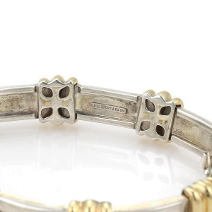 Tiffany & Co. 163282444407-E 18K Yellow Gold, Sterling Silver Bracelet
