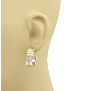 Tiffany & Co. 163282444415-E 18K Yellow Gold, Sterling Silver Earrings