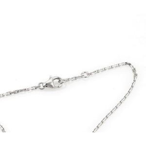 Cartier 18K White Gold Ceramic Bracelet