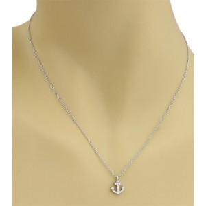 Tiffany & Co. 18K White Gold Diamond Pendant