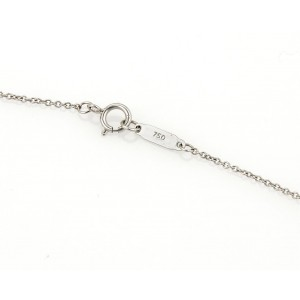 993f03278 Diamond 18k White Gold Peace Pendant & Chain Necklace | Tiffany & Co. | Buy  at TrueFacet