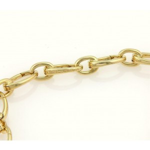 09b0b482f 18k Yellow Gold All Around Oval Clasping Link Bracelet | Tiffany & Co. |  Buy at TrueFacet