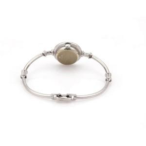 Elegant Chopard Diamond 18k White Gold Ladies Wrist Watch