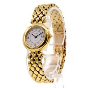 Ladies VAN CLEEF & ARPELS 18K Yellow Gold Dress Watch 71.8 Grams