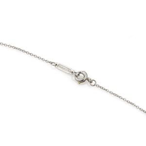 Tiffany & co. Victoria Platinum & Marquise Diamond Floral Pendant Necklace