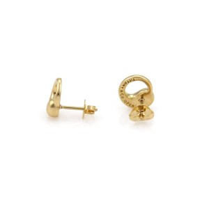 "Tiffany & Co. Peretti 18k Yellow Gold ""Eternal Circle"" Stud Earring"